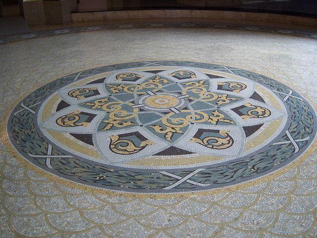 Mosaic, Centro Cultural Banco Do Brasil, São Paulo  http://pixabay.com/en/mosaic-251706/