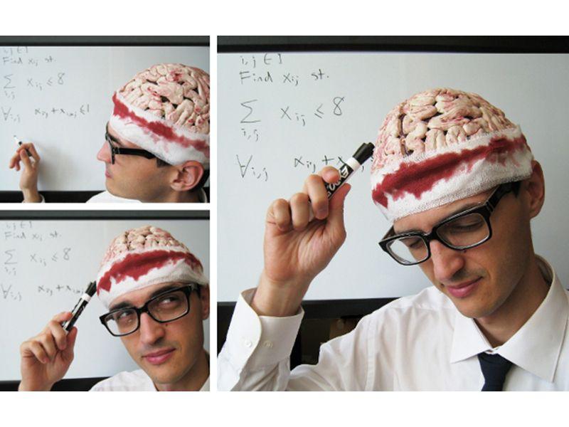 Gory Brain Cap — DIY | horror hospital | Pinterest | Diy costumes ...