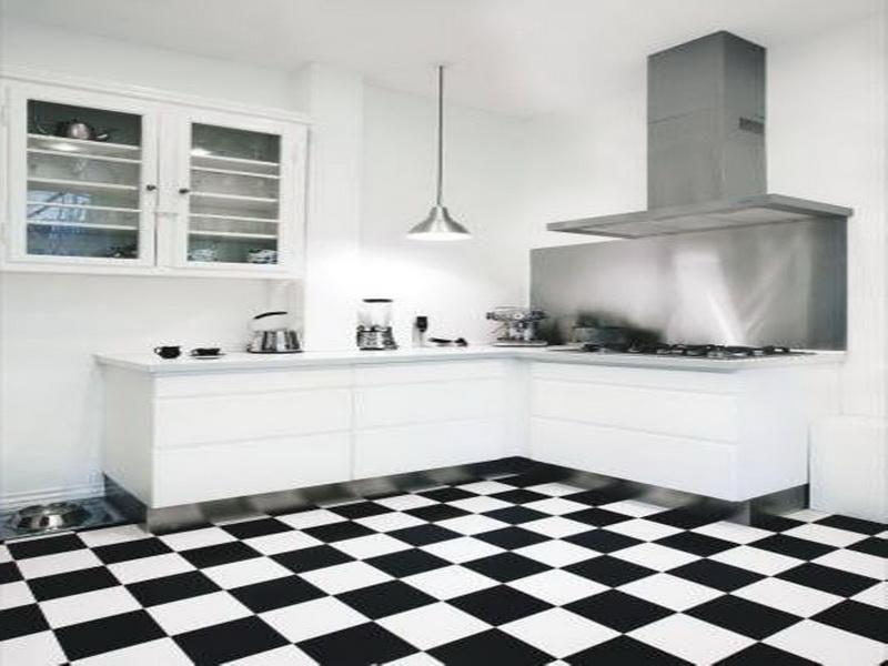 Kitchen Floor Tiles Black Whiteblack And White Uc3x5o1z