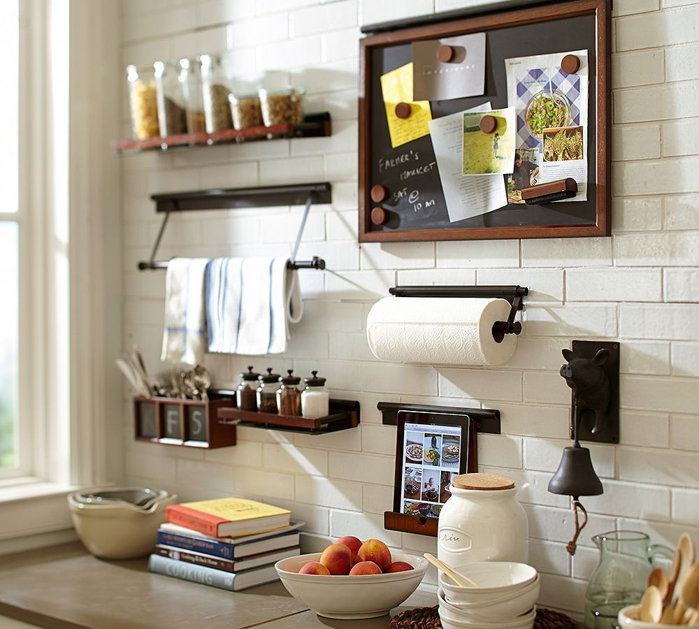 An impeccably organized kitchen