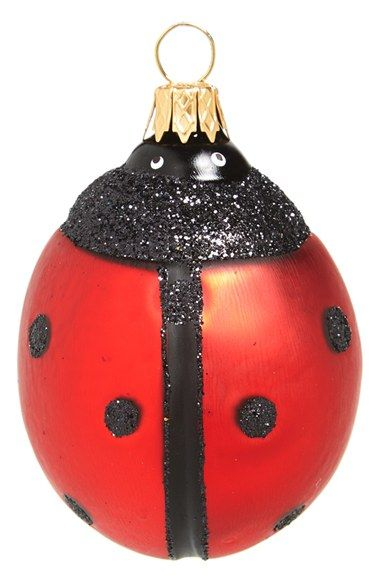 Nordstrom at Home Glass Ladybug Ornament available at #Nordstrom - Nordstrom At Home Glass Ladybug Ornament Available At #Nordstrom