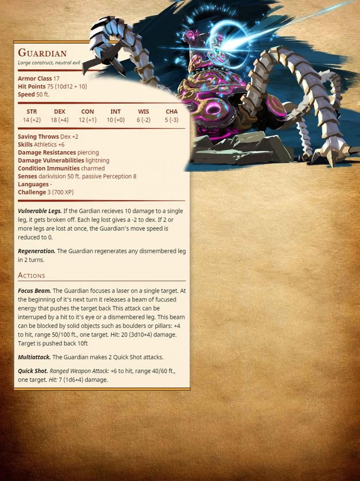 5e][Monster] My first try at creating a monster  The