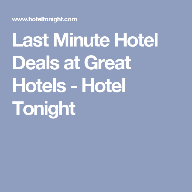 Last Minute Hotel Deals At Great Hotels Tonight Myrtle Beach