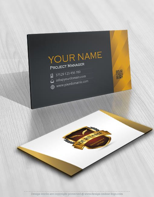 Exclusive design olive branch security logo free business card 01480 shield logos logo business card design reheart