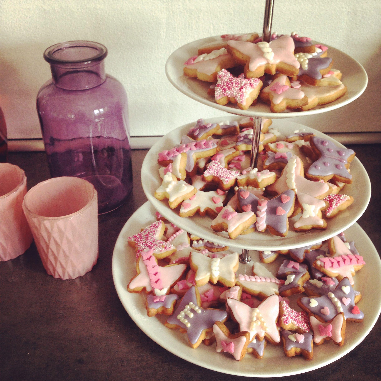 Søde småkager til barnedåb