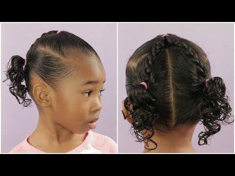 a cute less than 10 minute hairstyle  beginner/easy