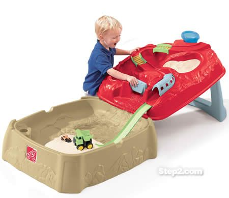 Outdoor Toys For Toddlers And Preschoolers Step2 Water Rush Quarry Sand Table