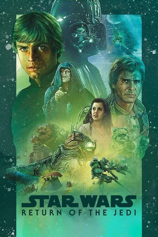 Star Wars Vi The Return Of The Jedi Star Wars Episode 6 Star Wars Star Wars Fandom