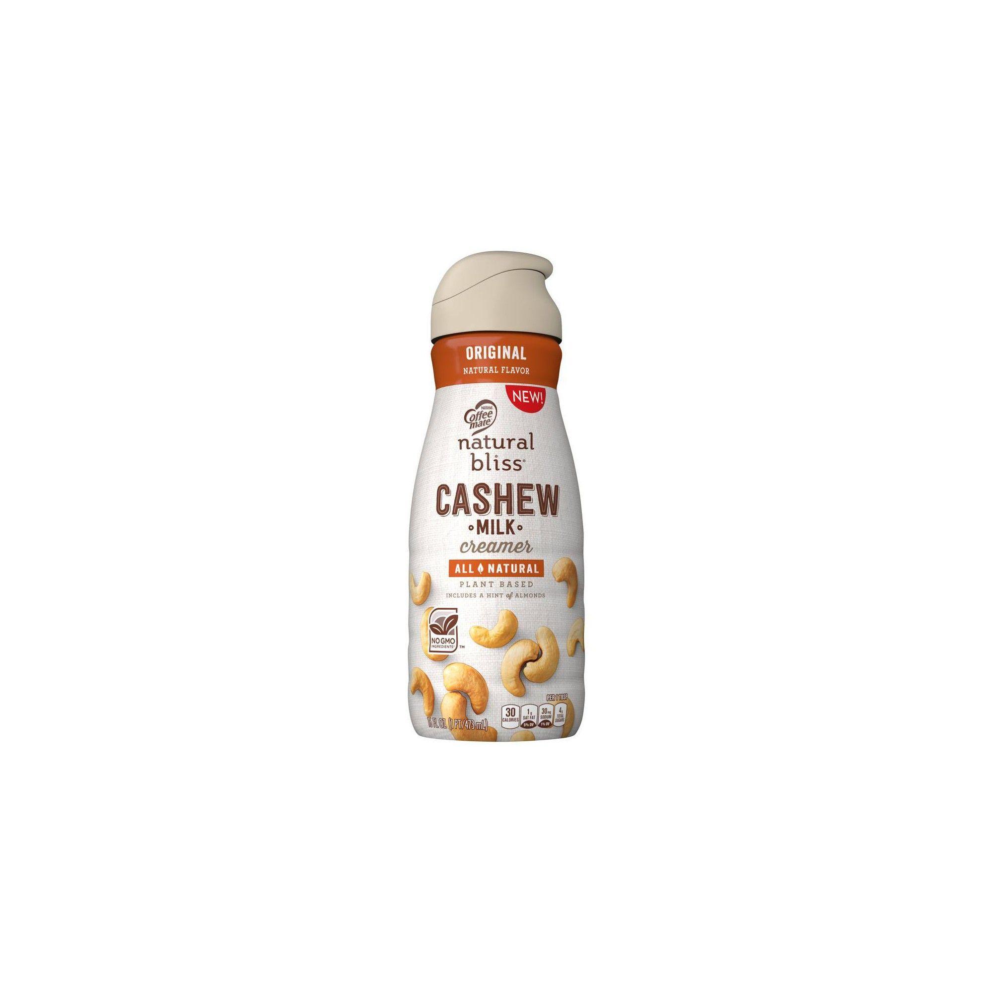 Coffee mate natural bliss cashew milk coffee creamer 16