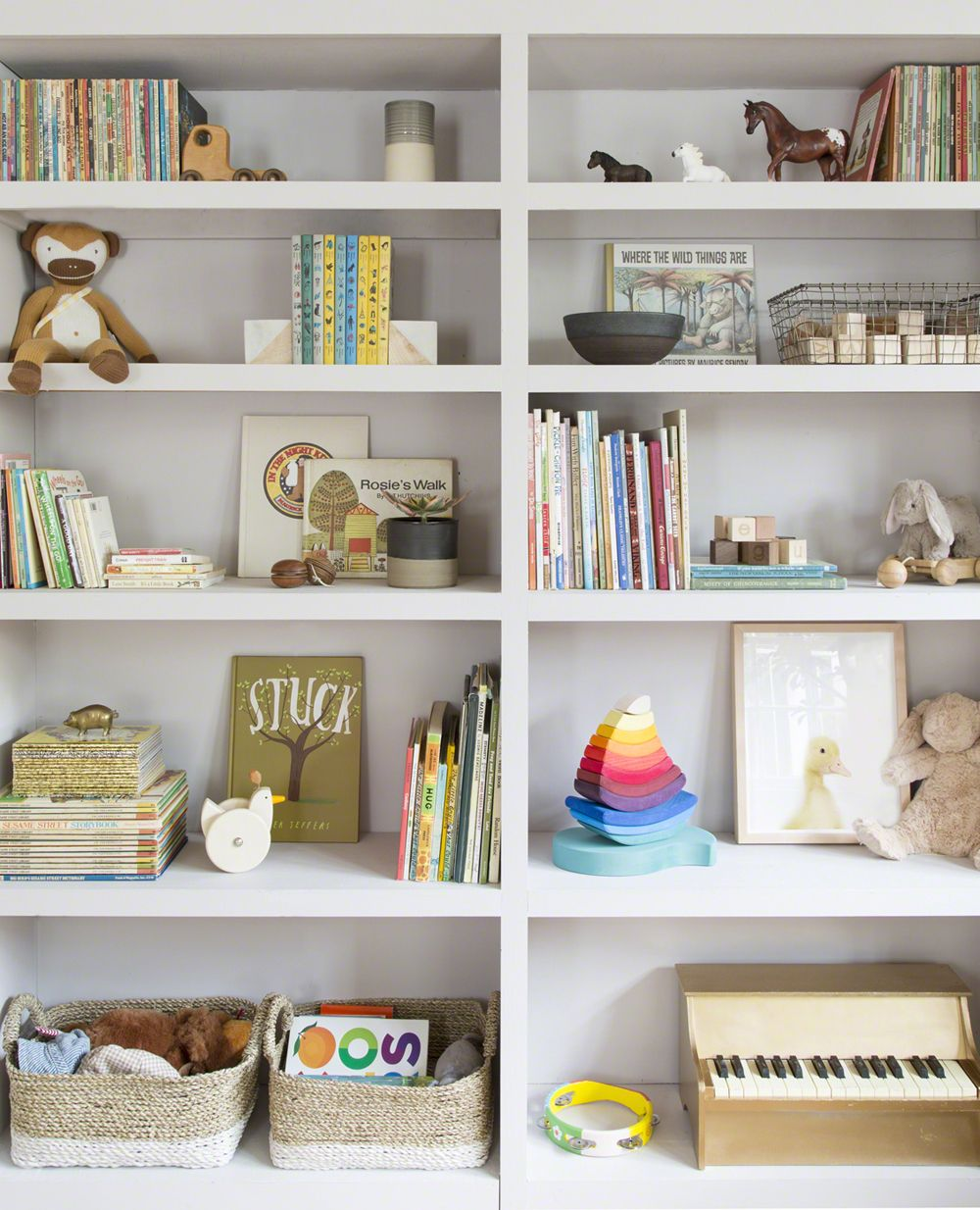 Introducing Baby Rhino in a Soothing California Nursery.   The Animal Print Shop Blog