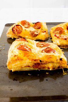 Stuffed Puff Pastry Pizza