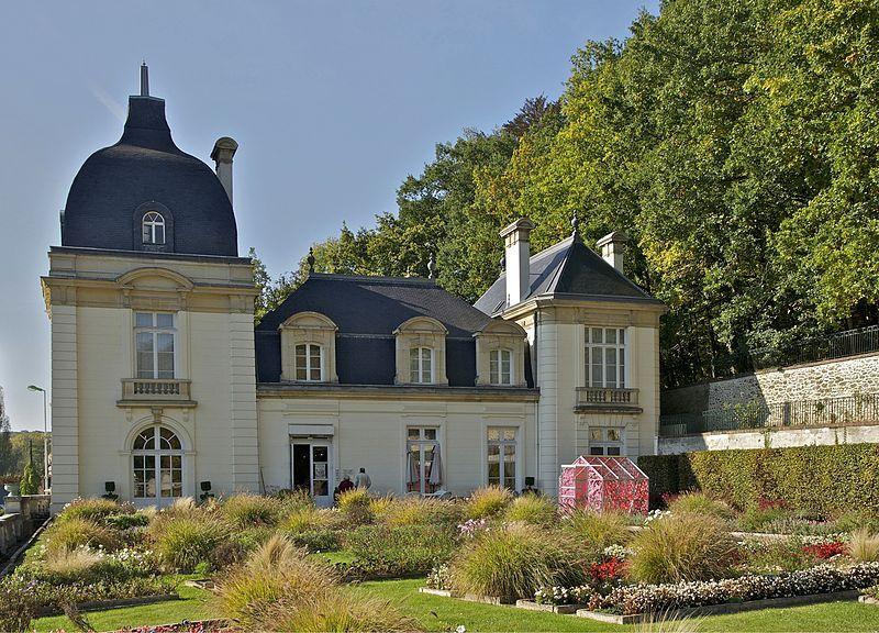 Le château de l'églantine à Jouy-en-Josas, Yvelines. Il abrite aujourd'hui le musée de la toile de Jouy.
