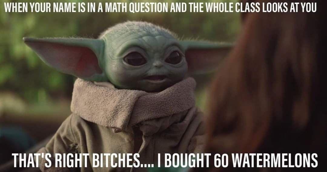 Pin By Michelle Stewart On Baby Yoda The Child Yoda Funny Yoda Meme Yoda