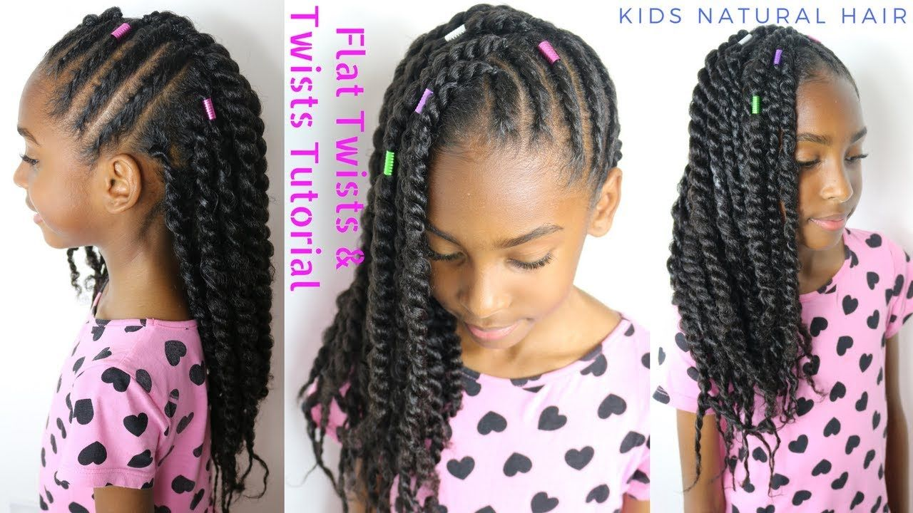 Kids Natural Hair Styles Flat Twists 2 Strand Twists Tutorial Youtube Natural Hair Styles Natural Hairstyles For Kids Natural Hair Styles Easy