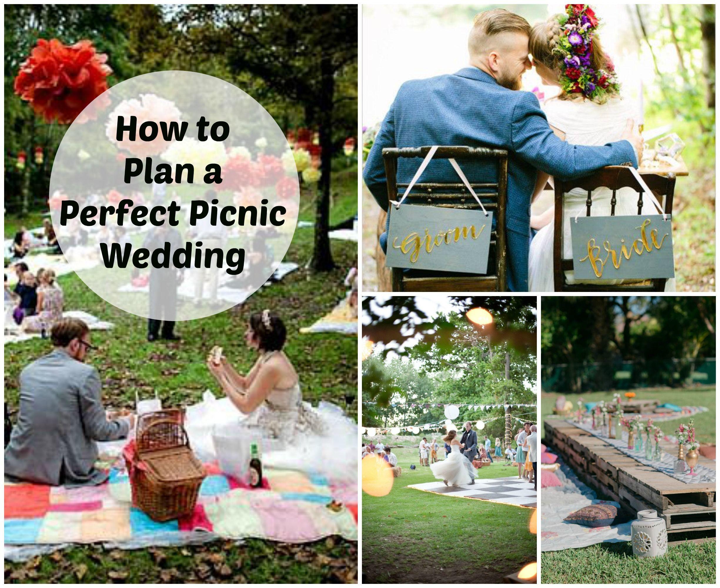 Picnic Wedding Reception Wedding Decor Ideas