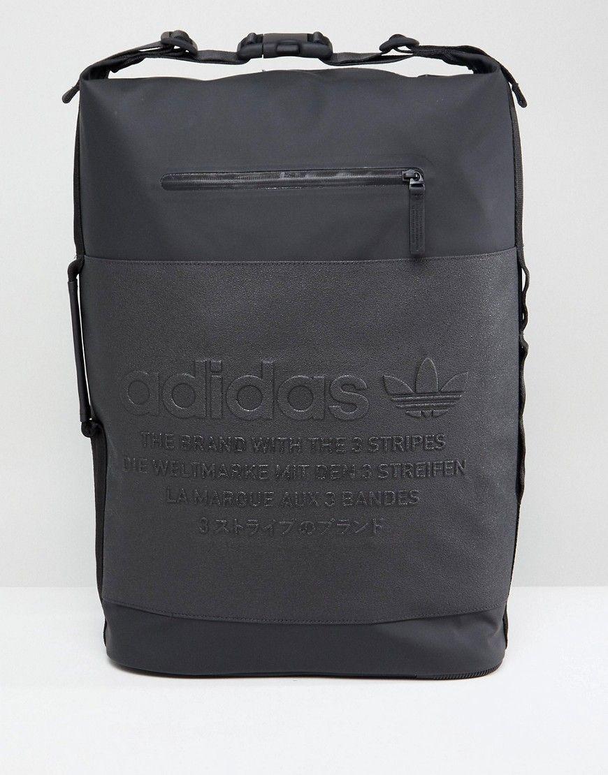 03ab7bbfe3 ADIDAS ORIGINALS NMD LARGE BACKPACK IN BLACK CE2359 - BLACK.  #adidasoriginals #bags #leather #backpacks #