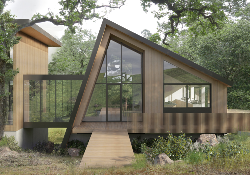 A Frame House Ryan Leidner Architecture Architecture House A Frame House Architecture