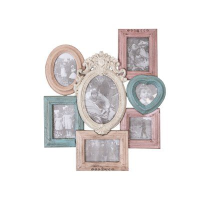 Multi-Coloured Photo Frame | Décor & Accessories | Pinterest | Wall ...
