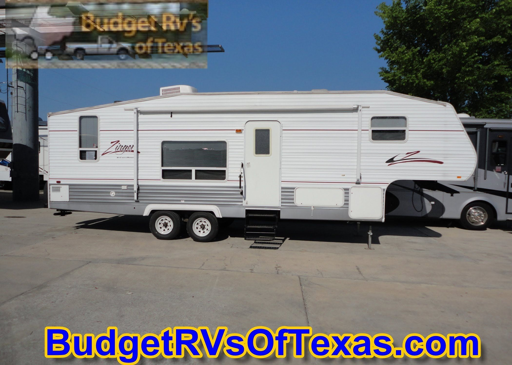 This 5th Wheel Zinger Is A Hum Dinger! 2006 32ft 2006