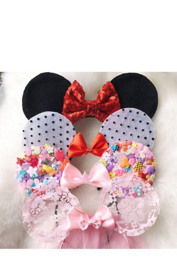 Halloween Ears Mickey Ears Disney Ears Mouse by MissCocoBoutique