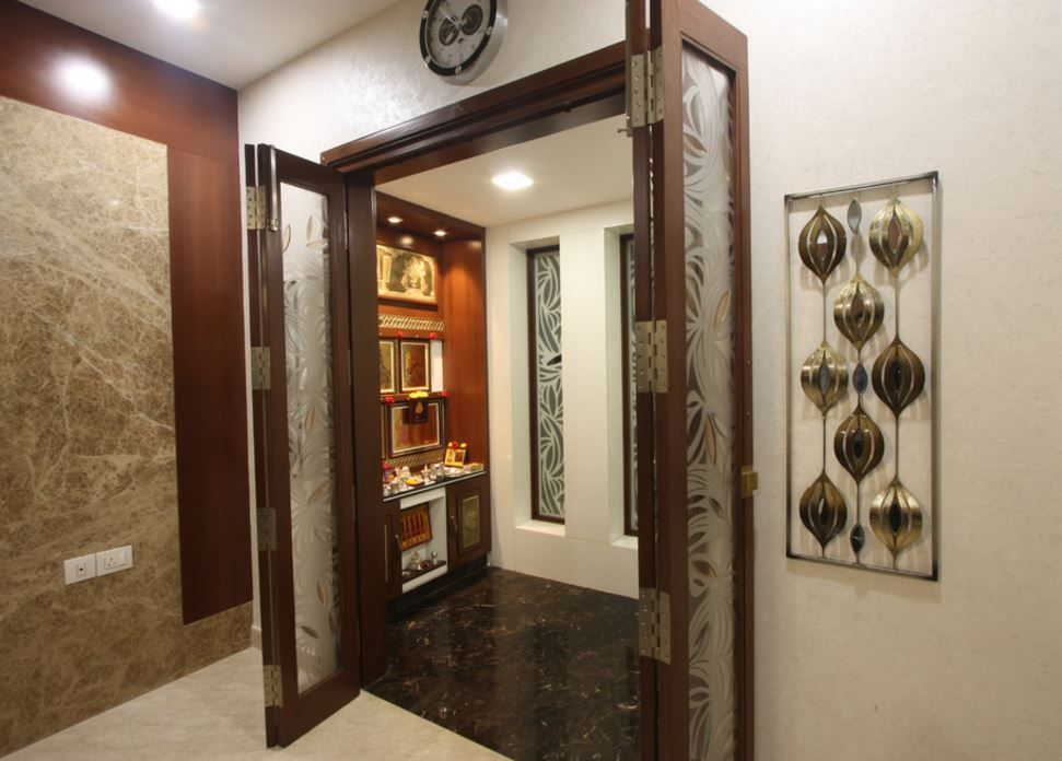 Design Of Pooja Room Within A House Part 91
