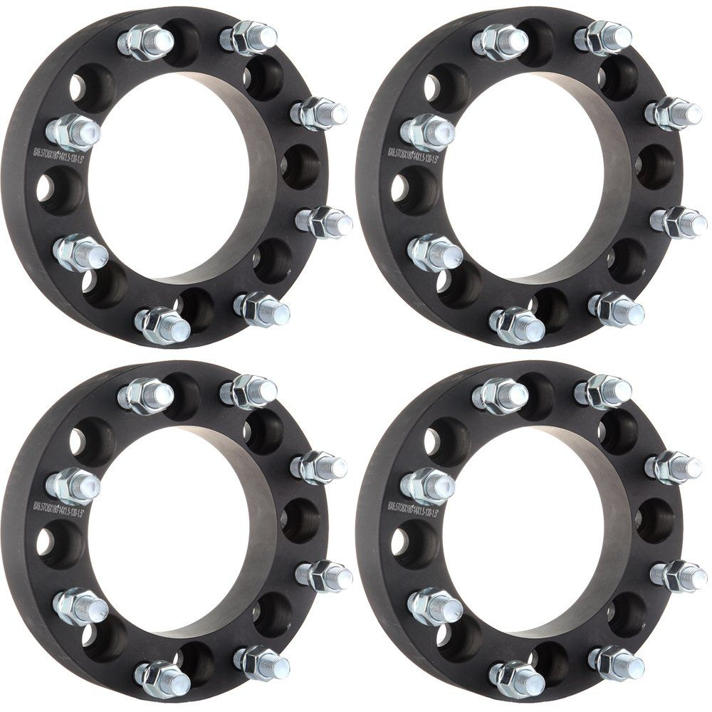 4PCS Wheel Spacers Adapters 8x180 to 8x180 For Chevy GMC 8 Lug 2500 3500 3/""