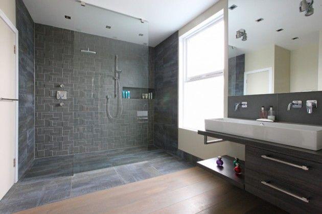 19 Schone Zeitgenossische Ideen Fur Duschdesign Moderne Dusche