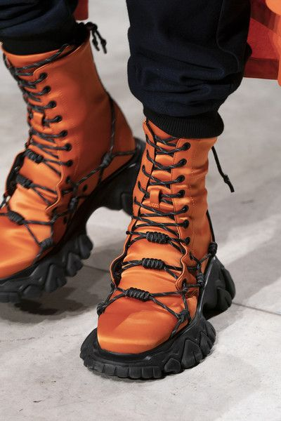 Angel Chen at Milan Fashion Week Fall 2019 is part of Winter fashion boots, Sneakers men fashion, Fashion boots, Fashion shoes, Sneakers fashion, Angel chen - Angel Chen at Milan Fashion Week Fall 2019  Details Runway Photos