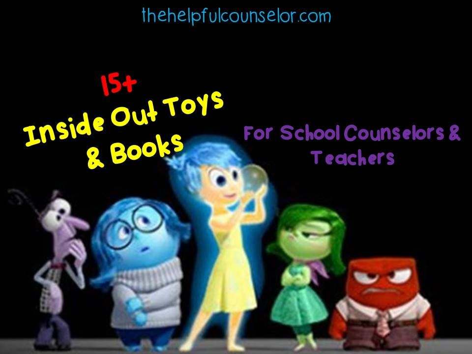 Toys For Teachers : Inside out toys books for counselors teachers
