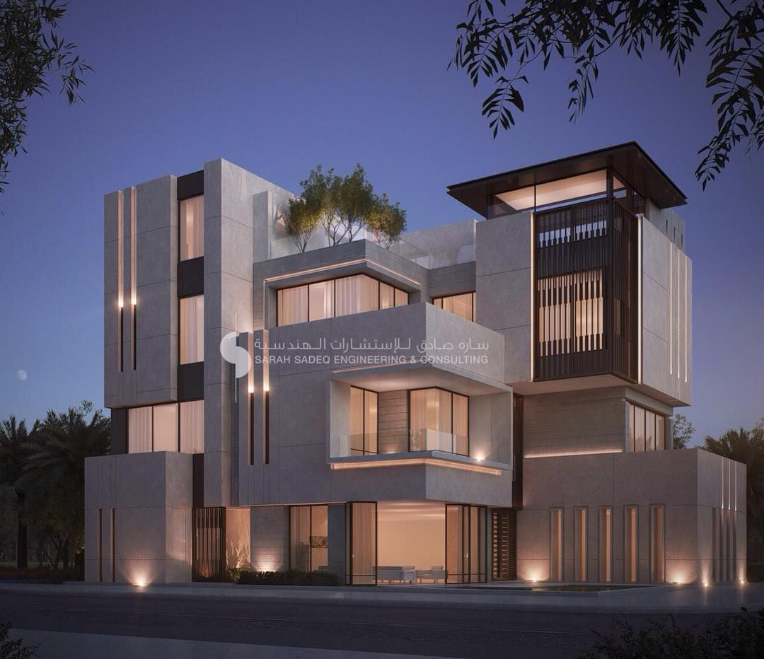Private Villa Sarah Sadeq Architects Kuwait: Pin By Shyam On Shyam In 2019