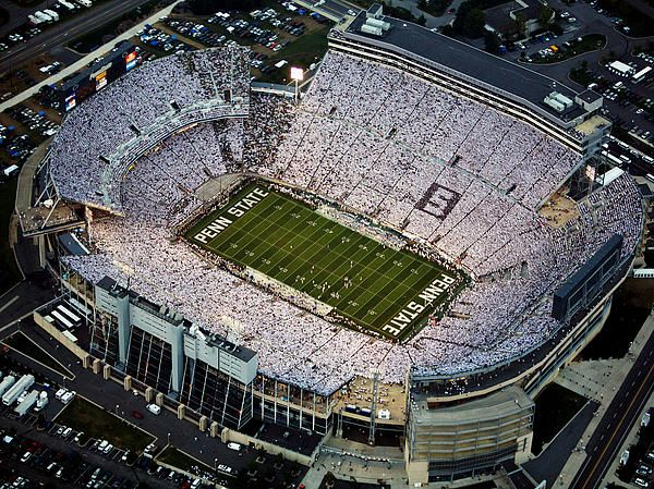 Pin By Marissa Bullard On Travel 3 Beaver Stadium Penn State Nittany Lions Football Penn State Football Stadium