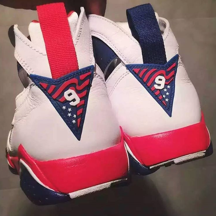 1992 air jordan 7 olympic back