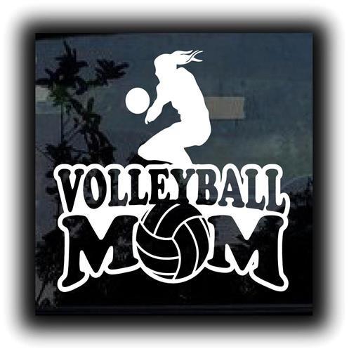 Volleyball mom girl custom decal sticker http customstickershop com