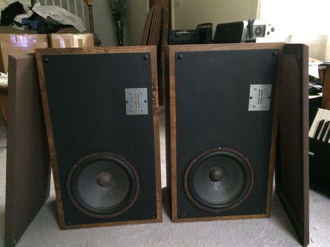 speakers for sale. vintage 1980\u0027s infinity quantum qa 2-way speakers for sale on ebay p