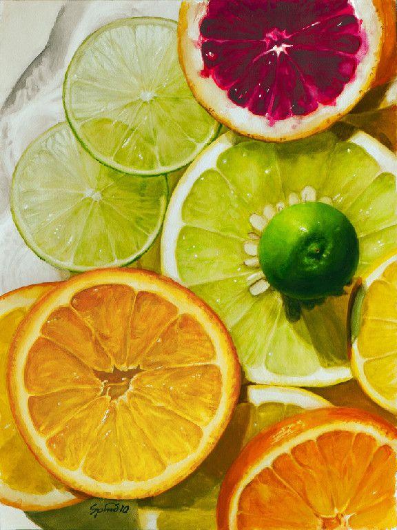 Paintings Fruits Aquarelle Fruits Aquarelle Dessin Aliment Et