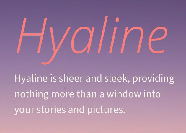 Hyaline | Tumblr