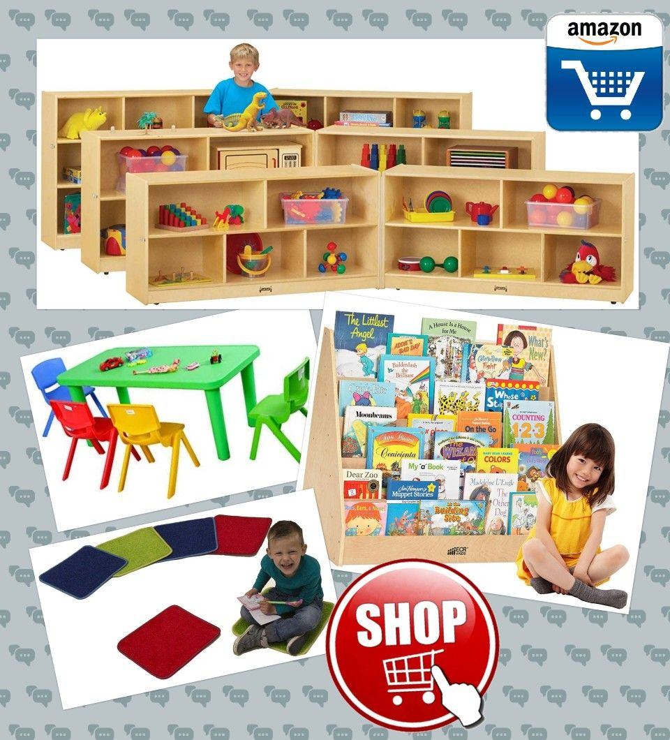 Child care, early childhood equipment and supplies