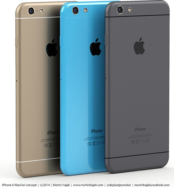 New Renders Show Off IPhone 6s And 6c Concepts IOS