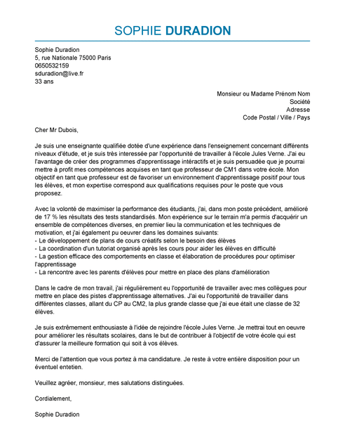 Exemple De Lettre De Motivation Professeur Modele De Lettres De M Lettre De Motivation Professeur Modele Lettre De Motivation Exemple De Lettre De Motivation