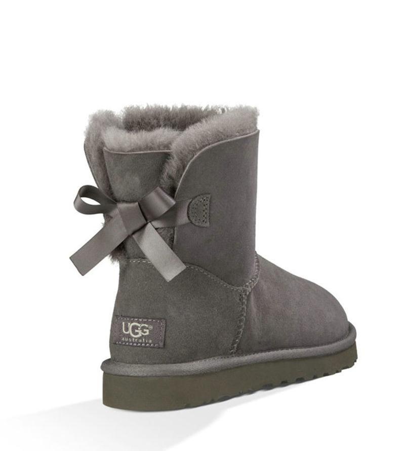 ugg boots mini grau