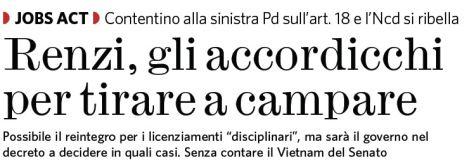 Informazione Contro!: LA TREGUA DI MATTEO CON I SUOI MA ADESSO LITIGA CO...