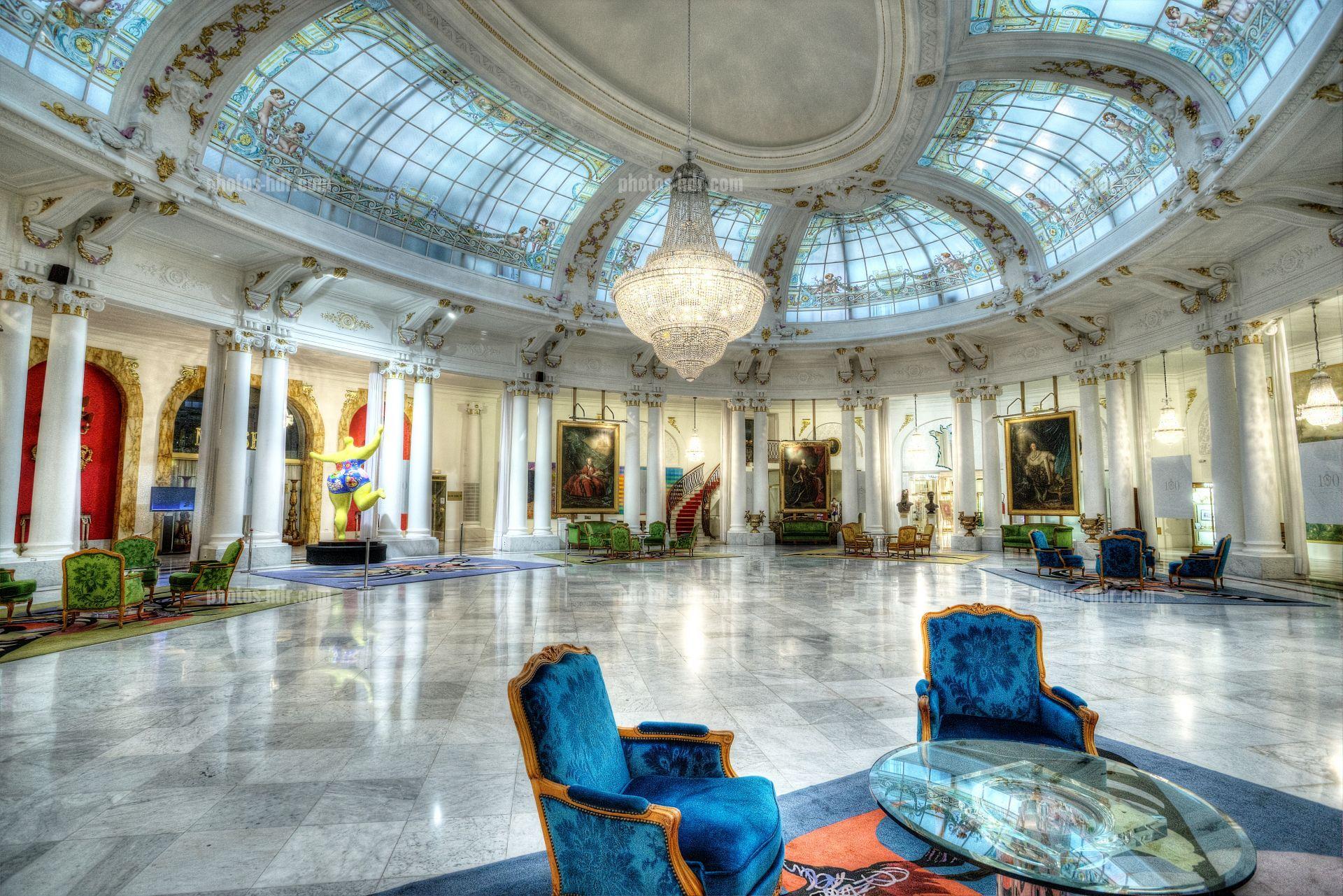 Negresco Hotel Nice France Architecture Balneaire Lieu Touristique Promenade Des Anglais