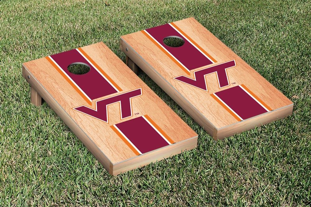 Virginia Tech Hokies Regulation Cornhole Game Set