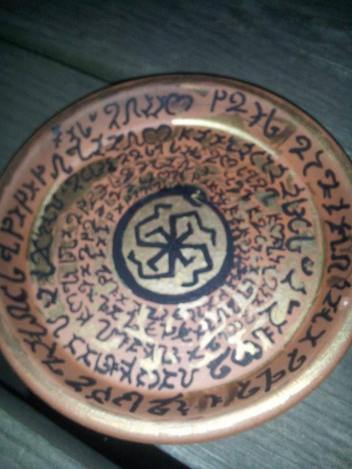 My jinn summoning bowl I made | Djinn summoning | Pinterest