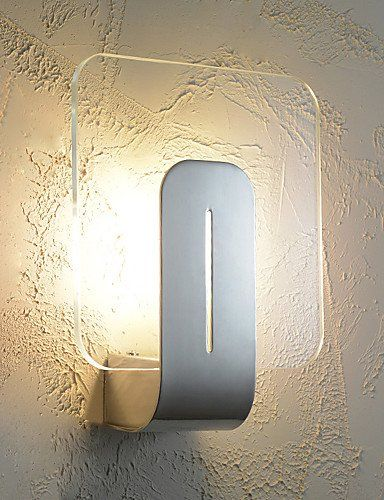Yupx Wall Light Wall Mount Light Style Simplicity Led Wall Lightsliving Room Hallway Cafe Bedroom Kids Room Wall Lights Contemporary Wall Lamp Metal Wall Light
