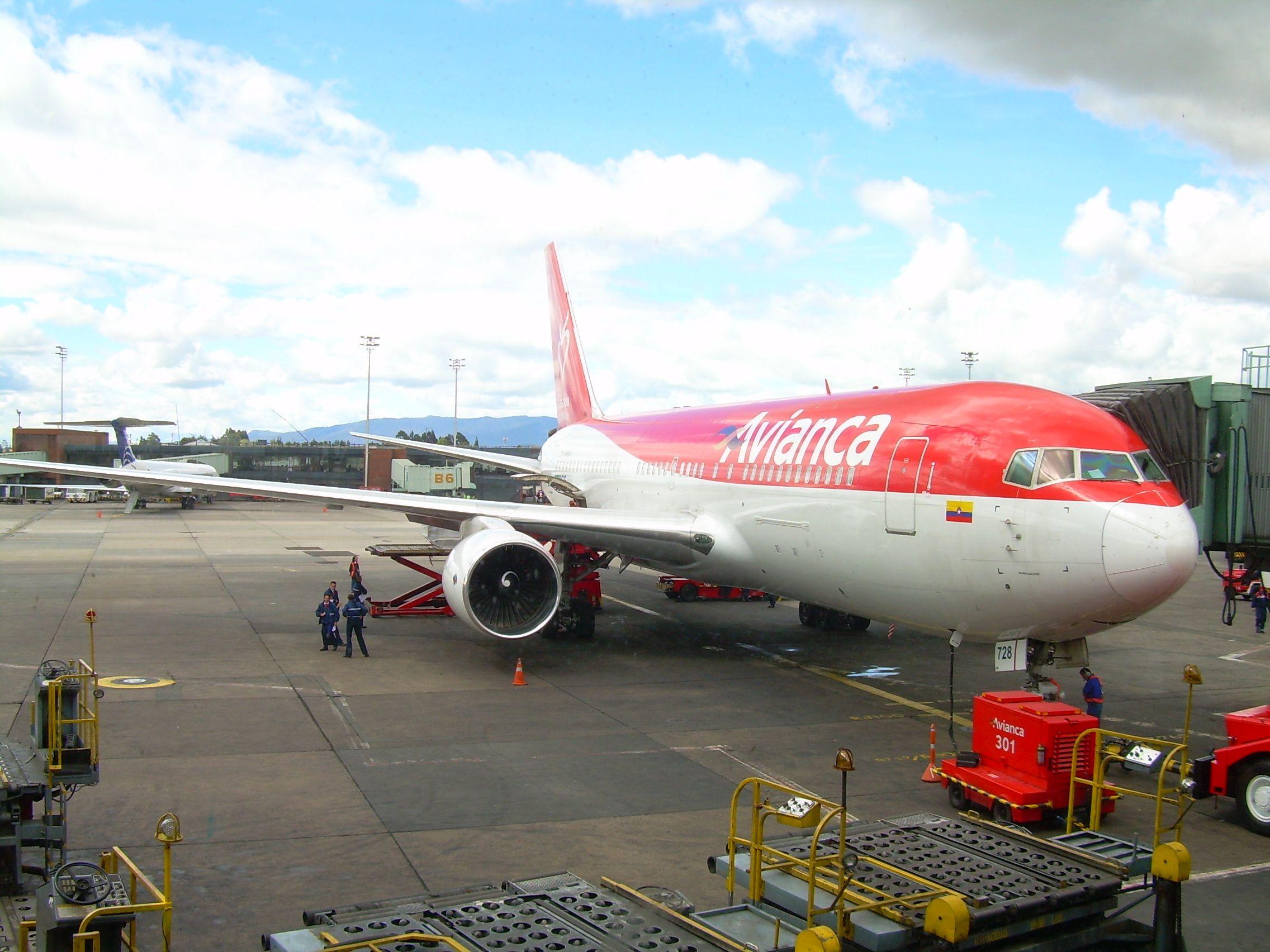 Avianca in El Dorado Airport