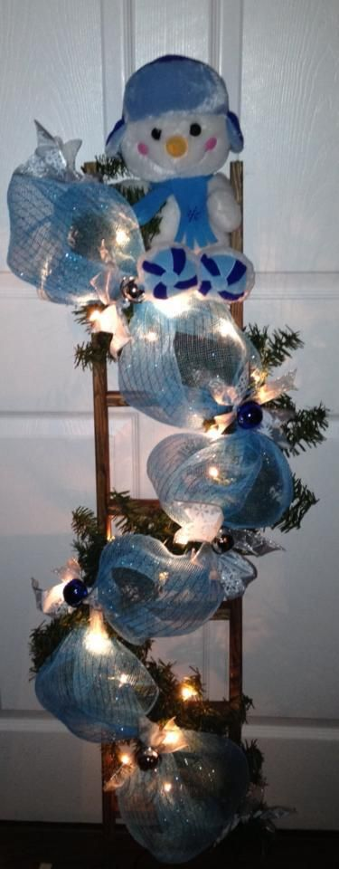 Christmas Ladder Christmas Pinterest Christmas, Christmas