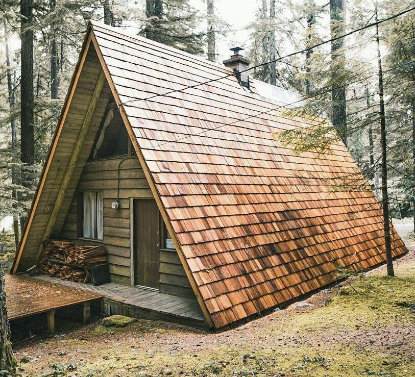 Prefab A Frame Cabin Home Tiny House Hunting Cabin Off Grid House Kit Homeenergysaving A Frame House Tiny House Kits A Frame Cabin