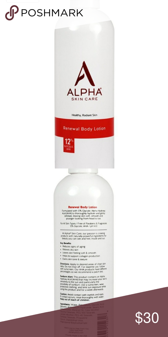 Alpha Skin Care Body Lotion Body Skin Care Body Lotion Skin Care