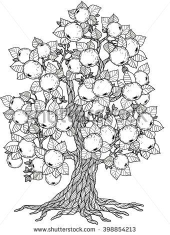 Nothing Found For Fruit Tree Coloring Page Tree Coloring Page Mandala Coloring Pages Fruit Coloring Pages